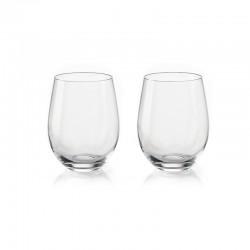 Juego de 2 Vasos para Vino - My Fusion Transparente - Guzzini