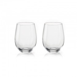 Set of 2 Wine Glasses - My Fusion Clear - Guzzini