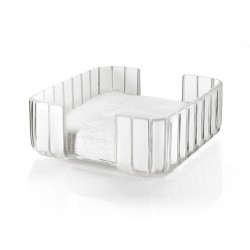 Rectangular Table Napkin Holder Clear - Grace - Guzzini