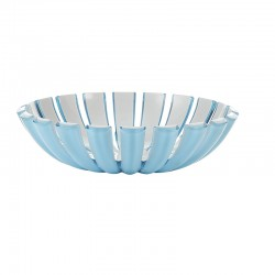 Basket Blue - Grace Blue And White - Guzzini