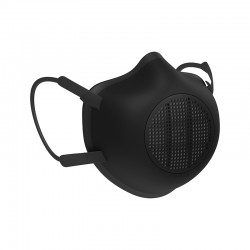 Máscara de Proteção Ecológica Adulto Preto - Eco-Mask - Guzzini Protection