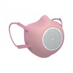Adult Eco-Friendly Protective Mask Pink - Eco-Mask - Guzzini Protection