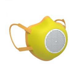 Máscara de Proteção Ecológica Adulto Amarelo - Eco-Mask - Guzzini Protection