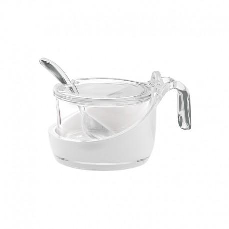 Sugar Bowl with Teaspoon Clear - Grace - Guzzini GUZZINI GZ24890000