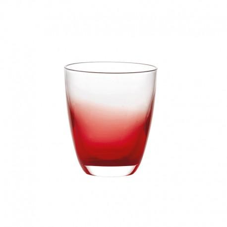 Copo de Vidro Bicolor Vermelho - Grace - Guzzini GUZZINI GZ29770065