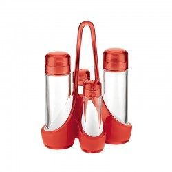 Cruet Set Red - Grace - Guzzini