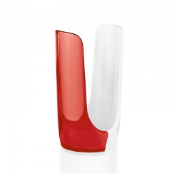 Plastic/Paper Cup Dispenser Red - Grace - Guzzini