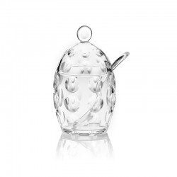 Sugar Bowl with Teaspoon - Venice Clear - Guzzini GUZZINI GZ11100000