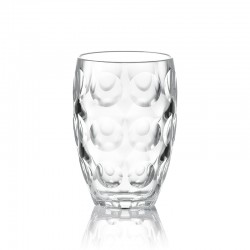 Tall Tumbler Glass - Venice Clear - Guzzini
