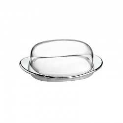 Butter Dish - Look Chrome - Guzzini