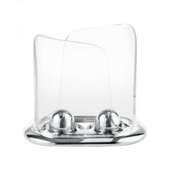 Dispensador de Copos Plástico/Papel - Look Cromado - Guzzini