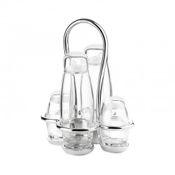 Cruet Set - Look Chrome - Guzzini