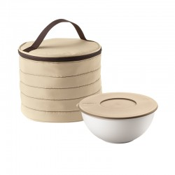 Round Thermal Bag and Container Set Clay - Handy - Guzzini