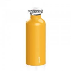 Garrafa Térmica para Viagem 500ml Amarelo - Energy - Guzzini