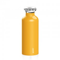 Thermal Travel Bottle 500ml Ochre - Energy - Guzzini