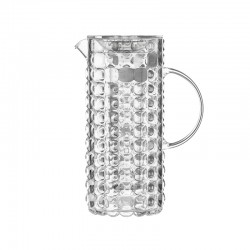 Jug with Chiller Bulb - Tiffany Clear - Guzzini