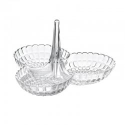 Hors D'Oeuvres Dish Clear - Tiffany - Guzzini