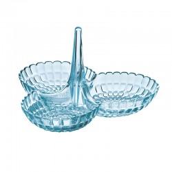 Prato de Aperitivos Azul - Tiffany - Guzzini