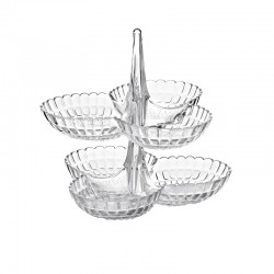 Set de 2 Pratos de Aperitivos Transparente - Tiffany - Guzzini