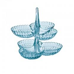 Set de 2 Pratos de Aperitivos Azul - Tiffany - Guzzini