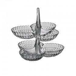 Set de 2 Pratos de Aperitivos Cinza - Tiffany - Guzzini