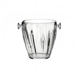 Champagne Bucket Clear - Aqua - Guzzini
