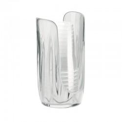 Plastic/Paper Cup Dispenser - Aqua Clear - Guzzini
