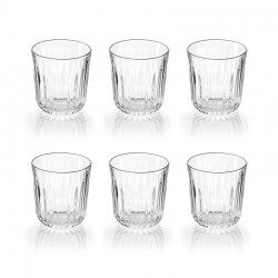 Set of 6 Glasses - Everyday Clear - Guzzini