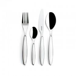 24-Piece Cutlery Set White - Feeling - Guzzini