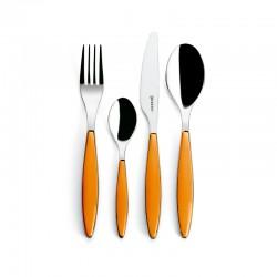 24-Piece Cutlery Set Orange - Feeling - Guzzini