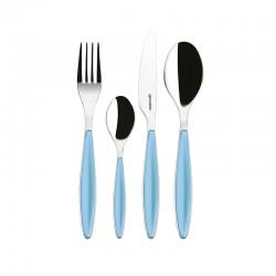 24-Piece Cutlery Set Sea Blue - Feeling - Guzzini