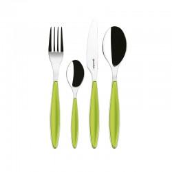 24-Piece Cutlery Set Apple Green - Feeling - Guzzini