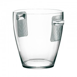Ice Bucket 5lt Clear - Happy Hour - Guzzini