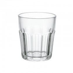 Low Ground Tumbler Clear - Happy Hour - Guzzini