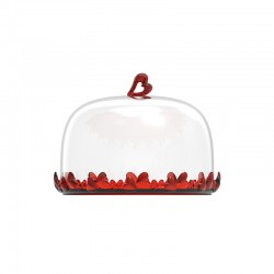 Cake Serving Set Red - Love - Guzzini