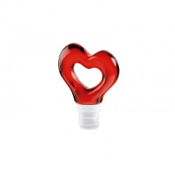 Bottle Stopper Red - Love - Guzzini