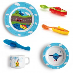 Set Dinner Traffic - Bimbi Assorted - Guzzini GUZZINI GZ08100052
