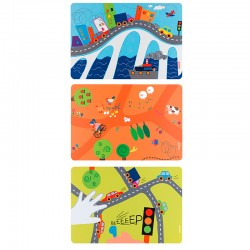 Placemats On The Road - Bimbi Assorted - Guzzini