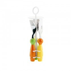 3-Piece Mini Cutlery Set Billo II - Bimbi Assorted - Guzzini
