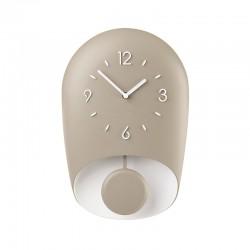 Relógio de Parede com Pêndulo Taupe BELL - Home - Guzzini GUZZINI GZ168604158
