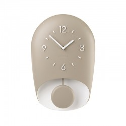 Wall Clock with Pedulum Taupe BELL - Home - Guzzini GUZZINI GZ168604158