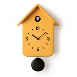 QQ Cuckoo Clock with Pendulum Ochre - HOME Grey - Guzzini GUZZINI GZ168602165