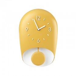 Relógio de Parede com Pêndulo Amarelo BELL - Home Amarelo Mustarda - Guzzini GUZZINI GZ168604206