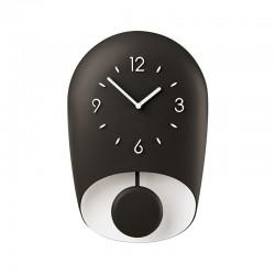 Wall Clock with Pedulum Charcoal BELL - Home - Guzzini GUZZINI GZ168604209