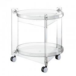 Mesa de Apoio Massoni Transparente - Home - Guzzini GUZZINI GZ01150100