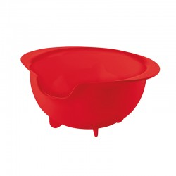 Easy Pouring Colander Red - All-In - Guzzini