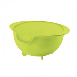 Easy Pouring Colander Green - All-In - Guzzini
