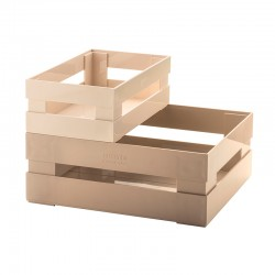 Set of 2 Boxes Clay - Tidy&Store - Guzzini