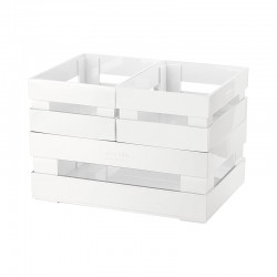 Set of 3 Boxes White - Tidy&Store - Guzzini