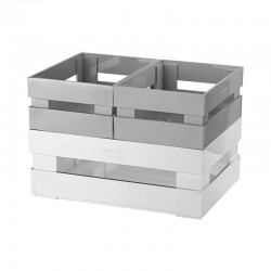 Set of 3 Boxes Grey - Tidy&Store - Guzzini